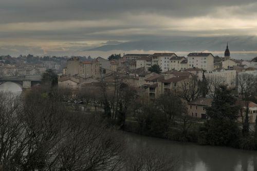 panoramic architecture city