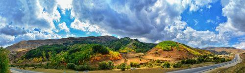 panoramic nature sky