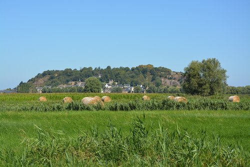 panoramic view of mont dol  brittany  ille et vilaine
