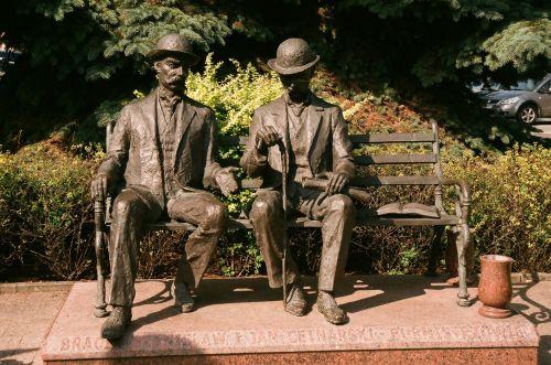 Gentlemen On The Bench