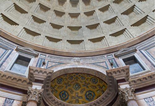 pantheon rome interior