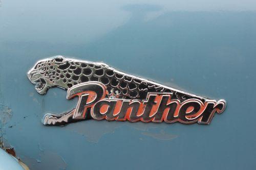 panther logo oldtimer