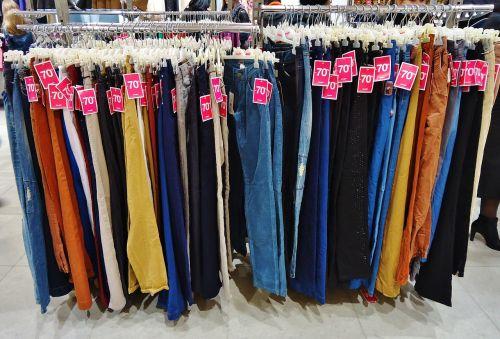 pants shop store