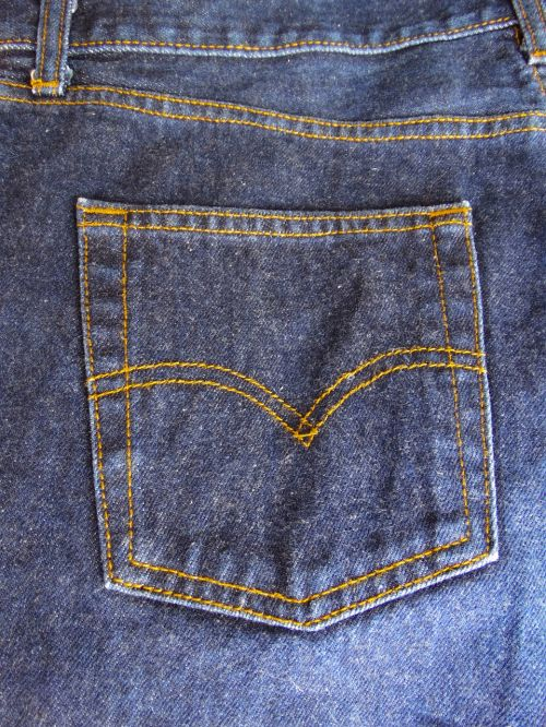 pants jeans seam