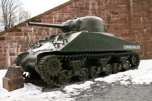panzer tank vehicle sherman m-4
