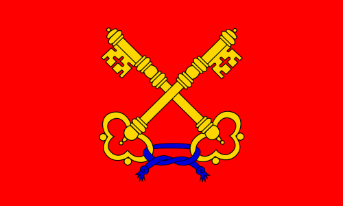 papal states flag italy