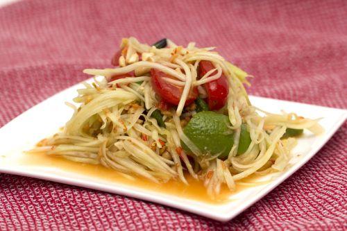 papaya salad thai