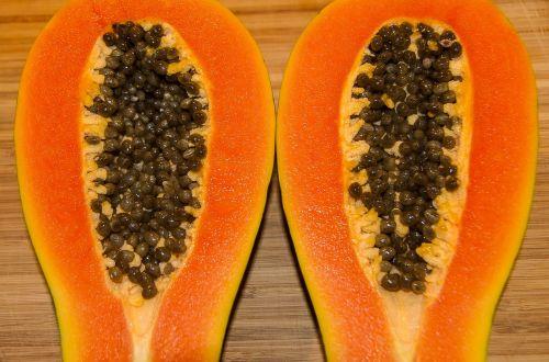 papaya red papaya fruit
