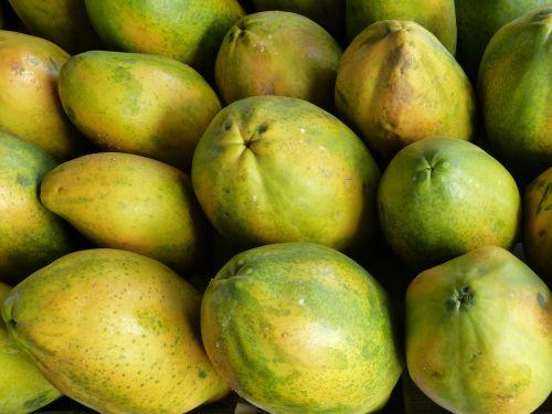 papaya fruits fruit