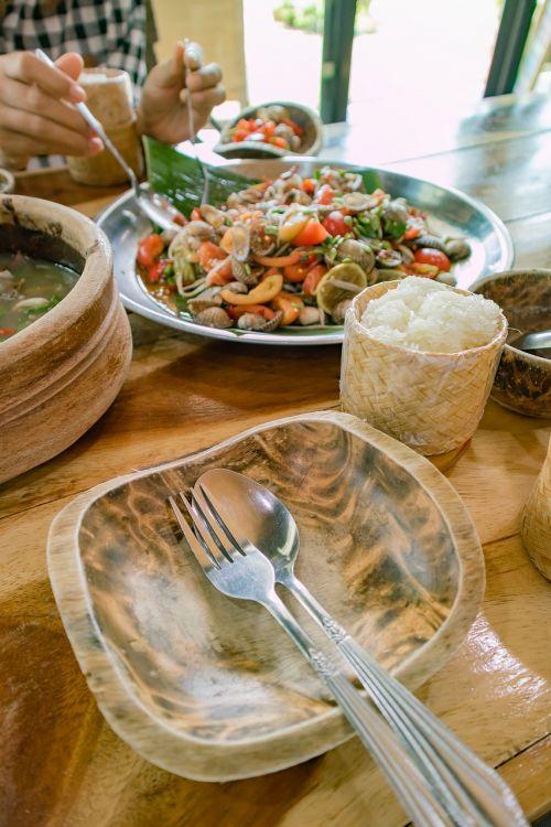 papaya salad thailand food isaan food