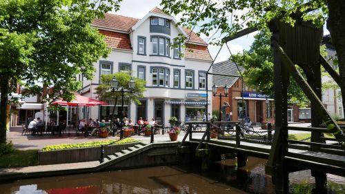 papenburg germany city pedestrian zone
