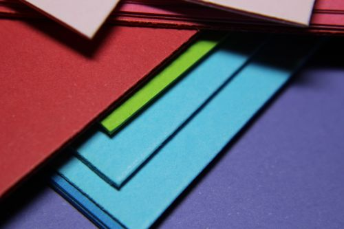 paper colorful rainbow