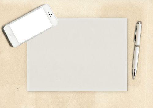 paper pen blank