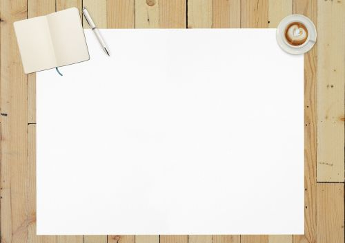 paper blank paper empty
