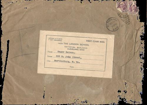 paper vintage envelope