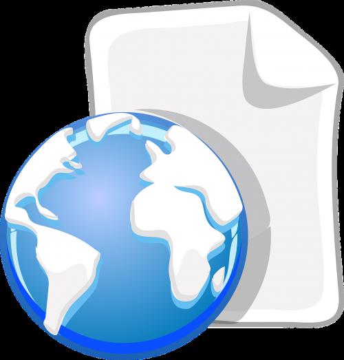 paper globe world