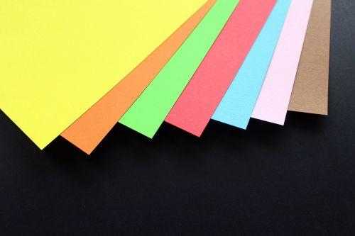 paper colored bristol