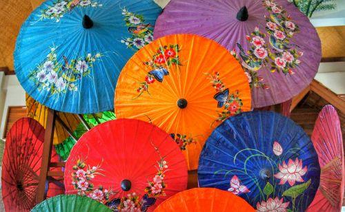 paper umbrella oriental