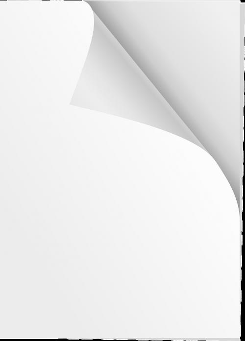 paper sheets white