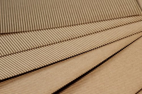 paper  pleated  cardboard