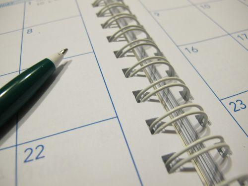 paper calendar planner
