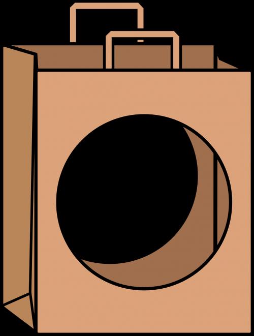 paper bag bag hole