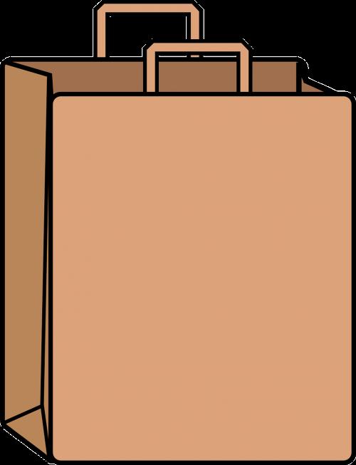 paper bag bag brown