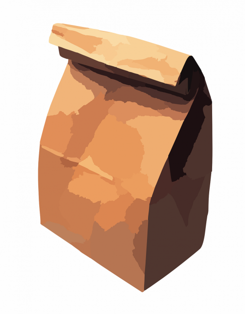 paper bag bag lunch bag