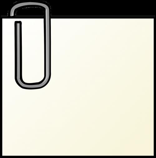paper-clip paper paperclip