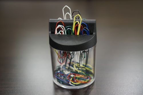 paper clips binder office