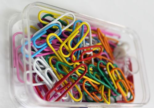 paper clips clips office