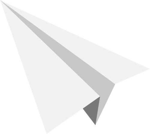 paper planes,send,grey,icon,free vector graphics