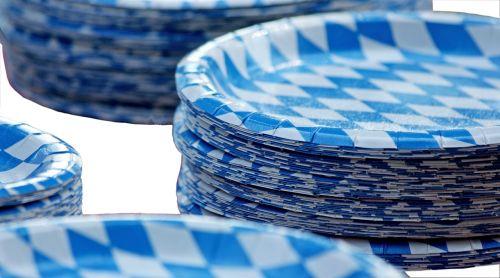 paper plate bavaria bavarian
