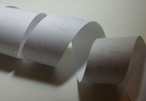 Paper Register Slip