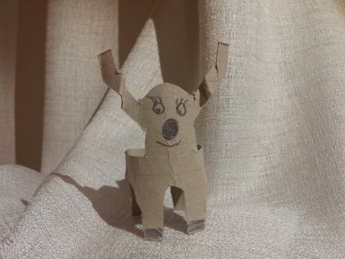 paper reindeer child labor creativity