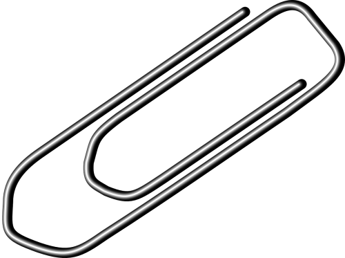 paperclip paper-clip office