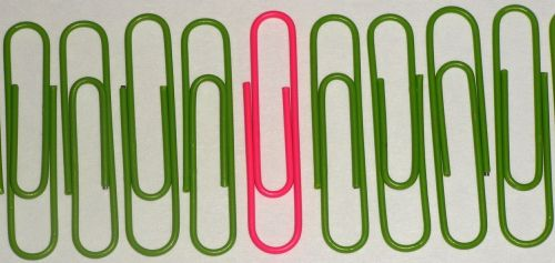 paperclips business office
