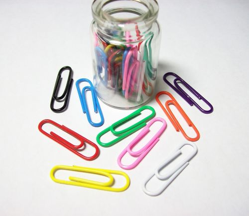 paperclips stationary office