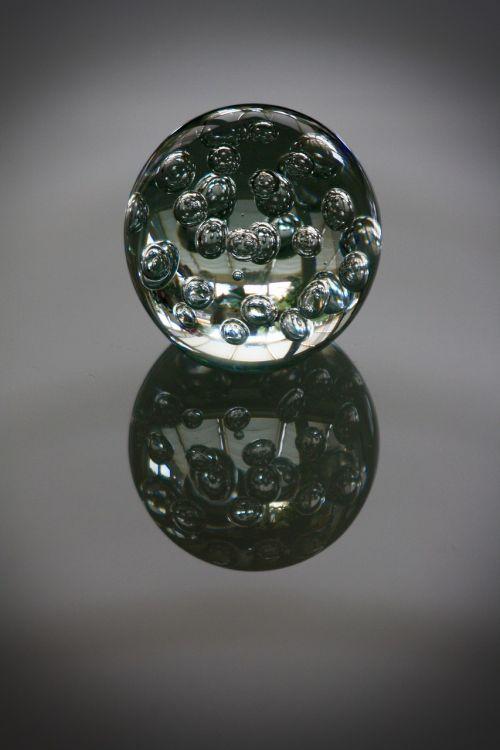 paperweight glass ball