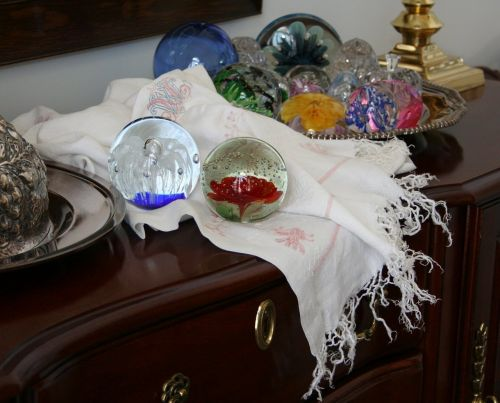 paperweights glass colorful