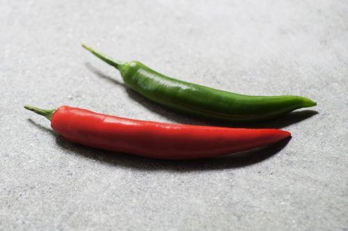paprika red green
