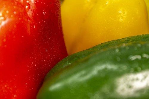 paprika  red  salad