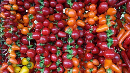 paprika vegetables apple paprika
