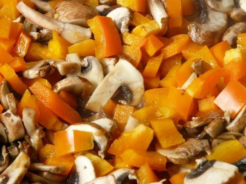 paprika mushrooms stew