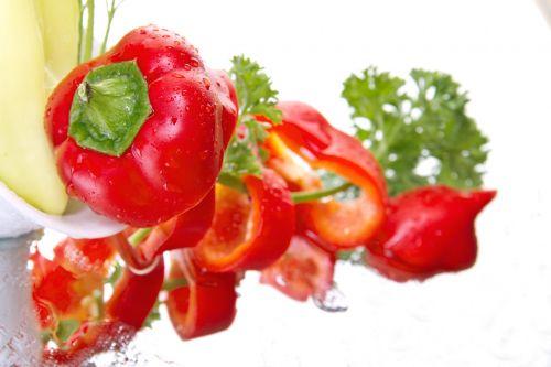 paprika vegetables red