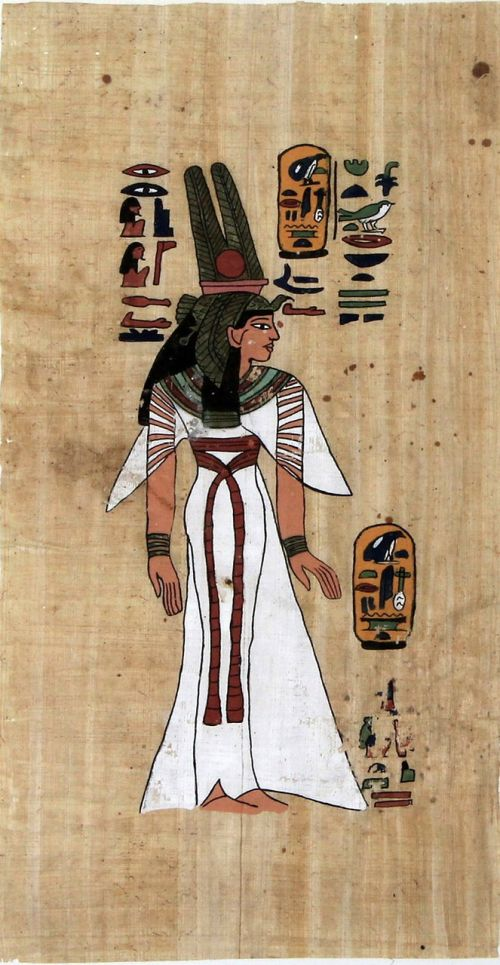 papyrus pharaonic old