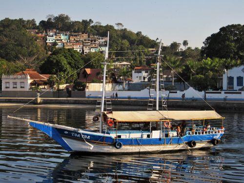 paquetá island stadtviertel of rio guanabara bay