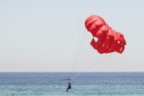 parachute red sky