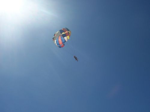 parachute sport skydiving
