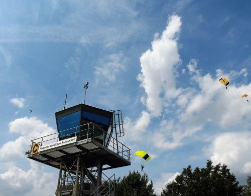 parachute sport parachutist